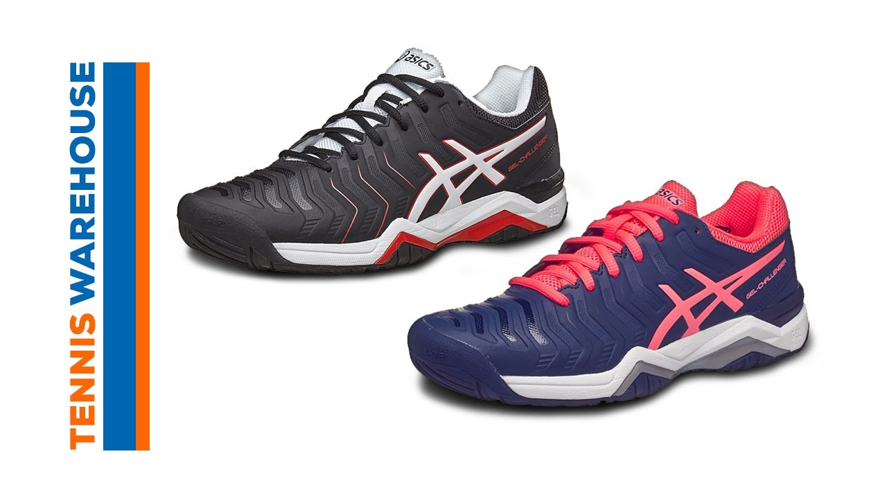 d84a7471698f Asics Gel Challenger 11 Tennis Shoes - YouTube