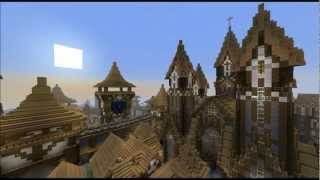 KARGETH medieval city / world project Minecraft Map