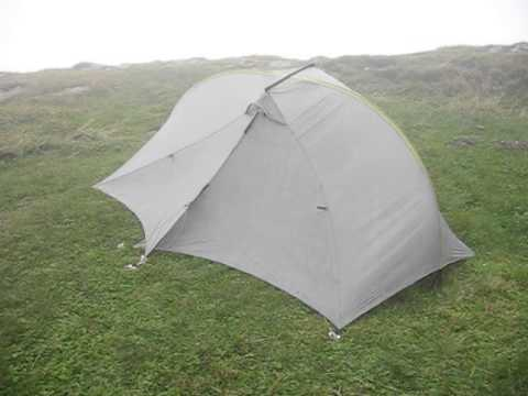 Tarptent Double Rainbow in the strong wind & Tarptent Double Rainbow in the strong wind - YouTube