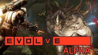 EVOLVE - ALPHA TEST - Caçadores Vs Monstro! [ PC Gameplay ]