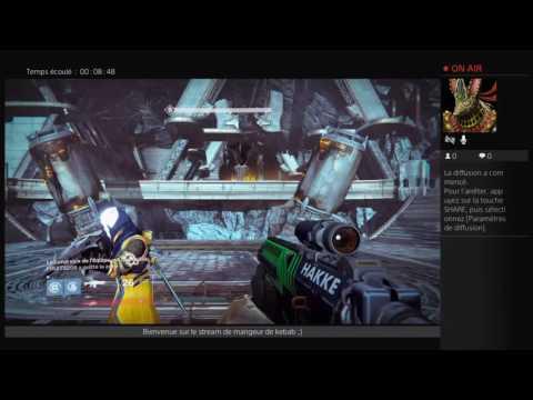 Diffusion PS4 destiny dlc4 en direct de RaZer-StOrm(PuLs-ReDoXx)