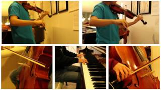 Transformers - Arrival to Earth Cover (violin, viola, cello, piano)