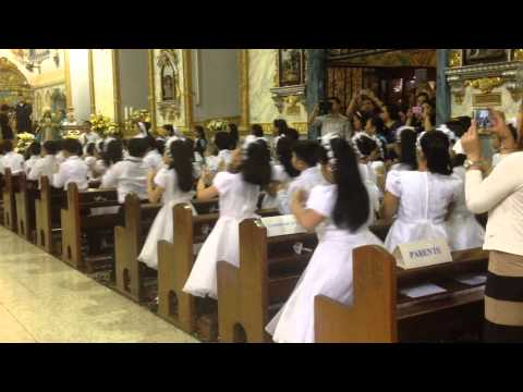 SPCM Gr. 3 First Communion @ St. Peter & Paul Parish Church, December 6, 2014