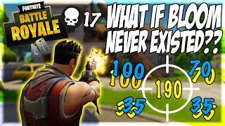 Hit Your Shots 100% Of The Time | Fortnite Battle Royale Without Bloom!?!