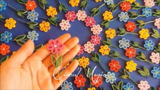 Circul Magic: Martisoare Quilling Wild Flowers