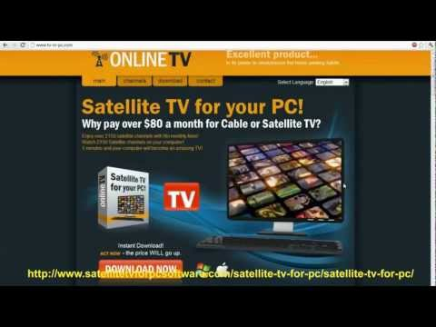 Satellite TV For PC SCAM? Watch TV Online - Satellite TV For PC Review