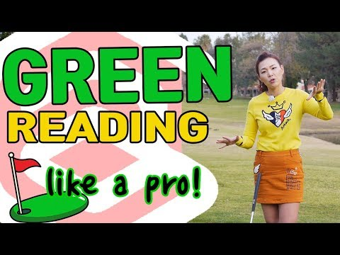 Green Reading like a Pro | Golf with Aimee
