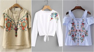 Embroidered Top Designs | Revamp It