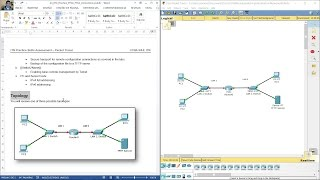Introduction to Networks Practice Skills Assessment – Packet Tracer