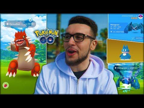 PERFECT IV WEATHER-BOOSTED GROUDON ENCOUNTER! (Pokémon GO) thumbnail