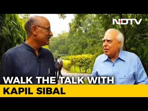 Walk The Talk With Kapil Sibal On His New Book