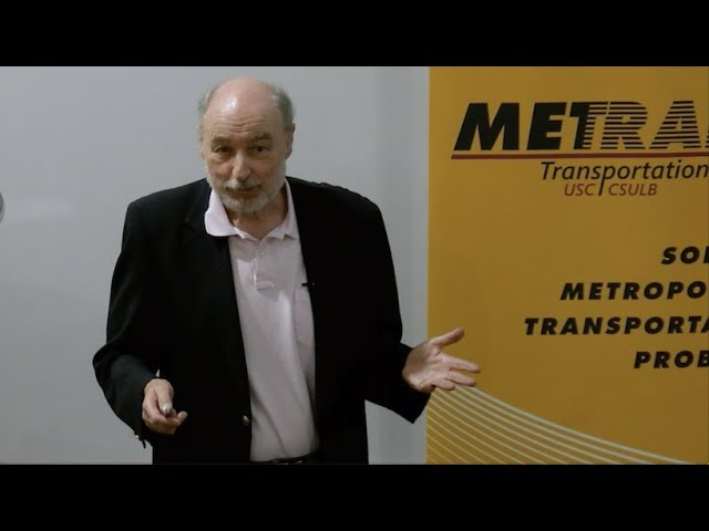 Highlights from the USC METRANS presentation featuring Peter Gordon and John Cho. Watch the full version here: https://youtu.be/rQIsT7Mqs1Y