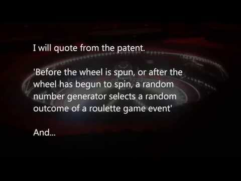 Unreal Roulette cheat, rigged?  Patented scam they don't want you to know...Quotes from patent!