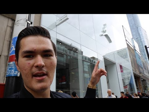 EXCLUSIVE FIRST LOOK AT NEW JORDAN STORE IN TORONTO (Vlog #4)