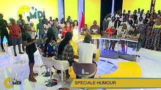 C'Midi Spéciale Humour de RTI 1 du 29 Décembre 2017 par Caroline DASYLVA