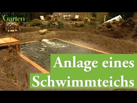 anleitung schwimmteich anlegen youtube. Black Bedroom Furniture Sets. Home Design Ideas