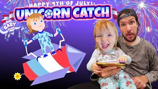 NiKO on a ROCKET - Unicorn Catch Update!!  Adley App Reviews new 4th of July Game & Baby Mode RAWR 🦄