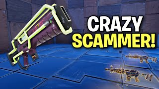 CRAZY Rich Kid Scams Himself! (Scammer Get Scammed) Fortnite Save The World