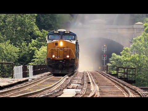 CSX Trains in Harpers Ferry !