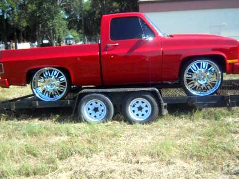 Chevy short bed truck on 26 forgiatos youtube chevy short bed truck on 26 forgiatos sciox Gallery