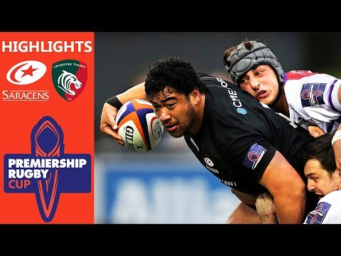 Saracens v Leicester Tigers   Premiership Rugby Cup