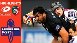 Saracens v Leicester Tigers | Premiership Rugby Cup