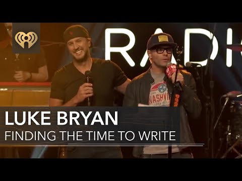 How Luke Bryan Finds Time to Write | iHeartCountry Album Release Party