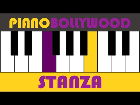 Saiyaara [Ek Tha Tiger] - Easy PIANO TUTORIAL - Stanza [Both Hands]