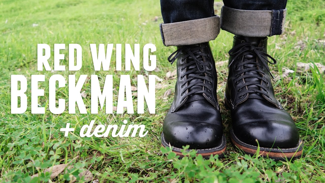 Red Wing Beckman 9014 Boots On Feet Hd Youtube