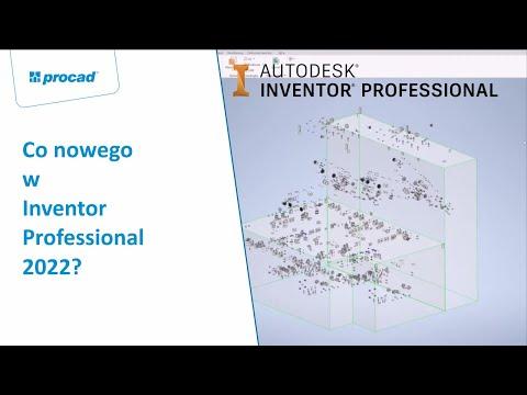 Co nowego w Inventor Professional 2022? | NetCafe