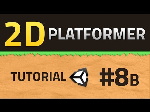 8B. How to make a 2D Platformer - SHOOTING - Unity Tutorial thumbnail