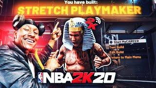MY *Brand New* STRETCH BIG PLAYMAKER build is a DEMIGOD! BEST BUILD NBA 2K20! DEMIGOD BUILD 2K20!