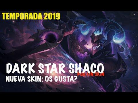 SHACO DARK STAR | 4 Años después una Skin por fin! Merece la pena??