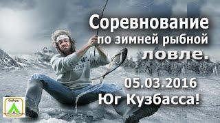 Соревнование по зимней рыбной ловле !!!  Юг Кузбасса!!! 05.03.2016