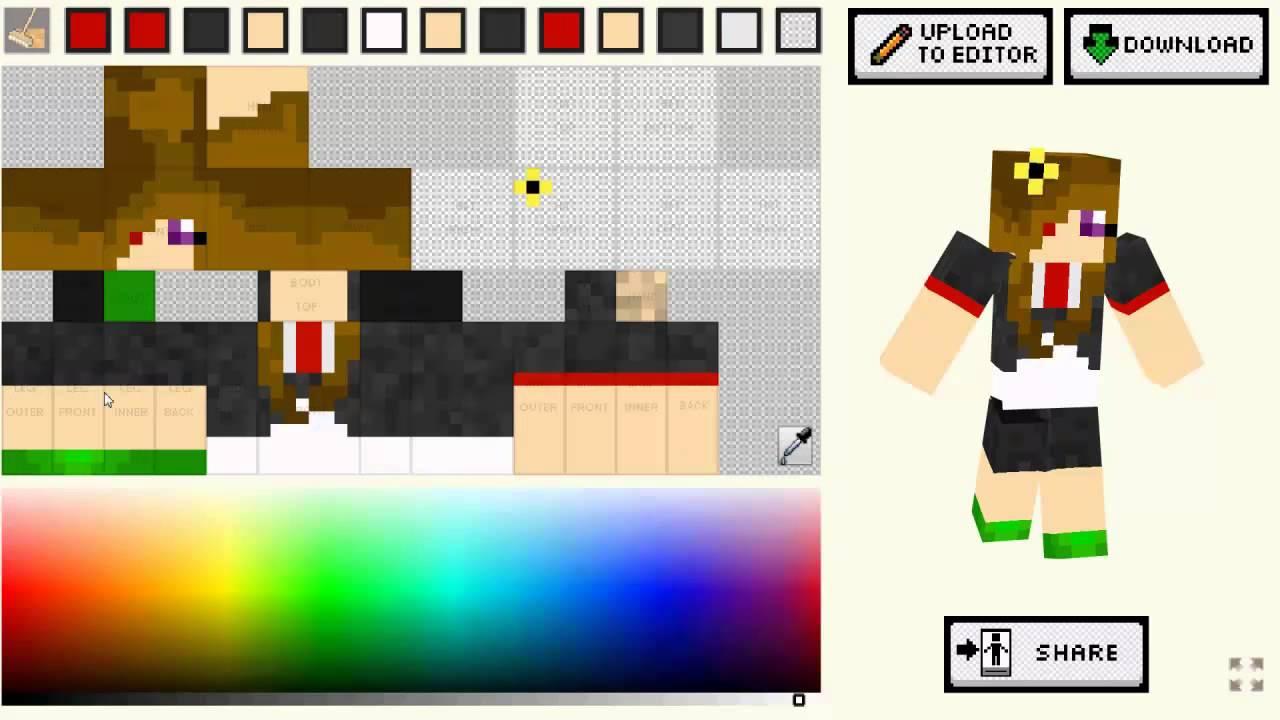 Minecraft Skin Designer Game