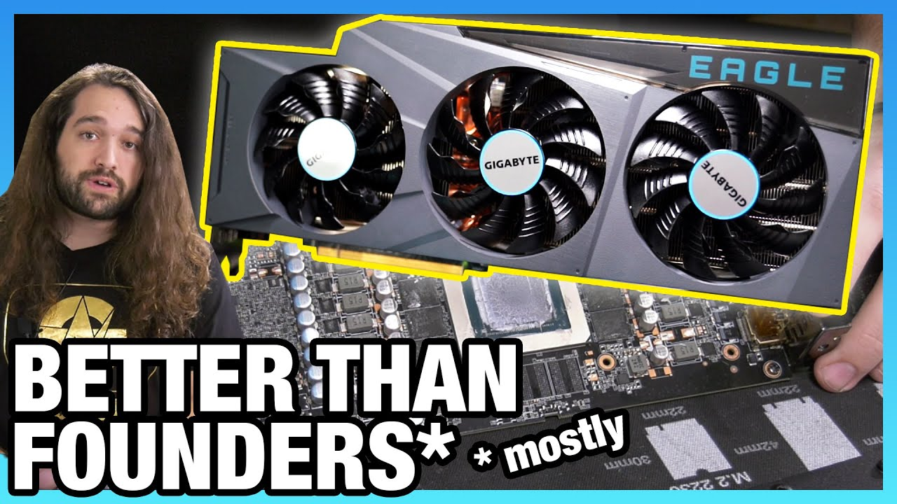 Gigabyte RTX 3080 Eagle Review: Better Thermals Than Founders Edition, Limited OC - Gamers Nexus