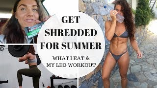 HOW TO GET SHREDDED FOR SUMMER