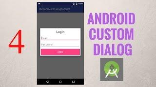 Lập trình Android - Dialog Bài 4: Custom giao diện đăng nhập