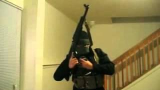 كيفية أستخدام كلاشنكوف AK-47