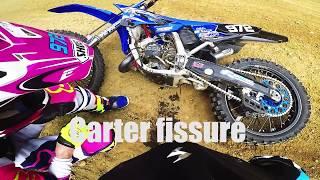 Entrainement Motocross 250CRF | CLARQUES | Moteur Serré 2 temps