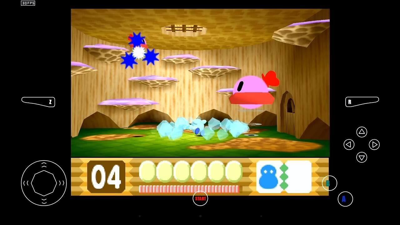 Mupen64 Plus Ae Emulator 2 4 4 For Android Kirby 64 The Crystal