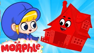Mila and Morphle  on Vacation - My Red House | Cartoons for Kids | Morphle TV
