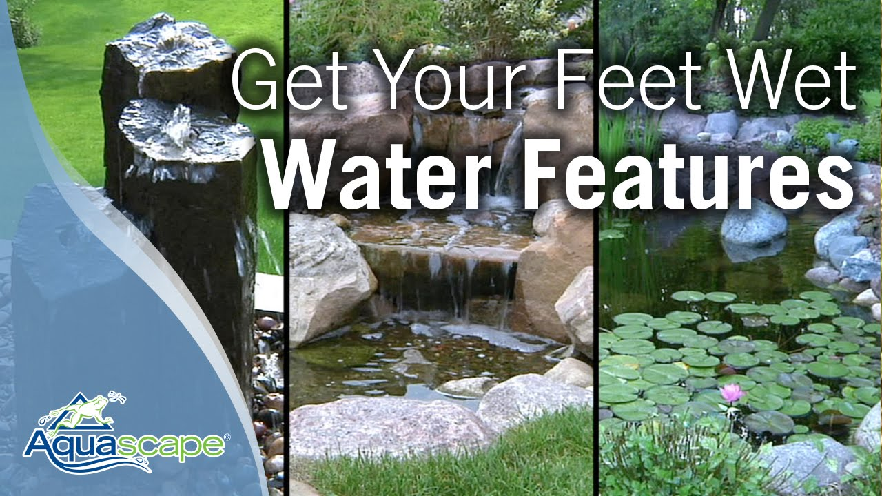 Attrayant Get Your Feet Wet With Aquascape Water Features (2011)   YouTube