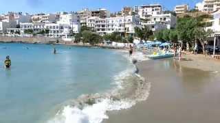 Crete, Agios Nikolaos, Ammoudi beach (Крит, Агиос-Никалаос, пляж Амуди)(Пляж Амуди в городке Агиос-Никалаос на Крите., 2015-11-01T17:03:29.000Z)