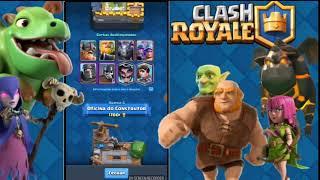 Troco!!! Conta de clash royale arena lendaria por conta de Naruto mobile ou clash of clans
