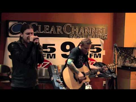 Shinedown performs Bully in the 945 The Buzz studio