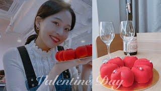 [Vlog] 발렌타인데이 보내기❤️, 원데이클래스, 베…