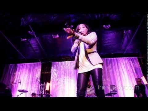 Monica Brown Singing Live 2012 - New Life Songs - Whitney Houston Tribute & Medley