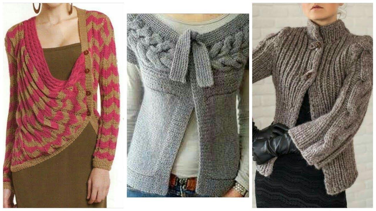 96d8b312253  New Stylish Sweater Design 2018 2019  Lattest Stylish Wool Sweater Design  for girls Women