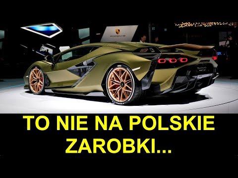 Lamborghini SIAN + masa innych nowości z Frankfurtu